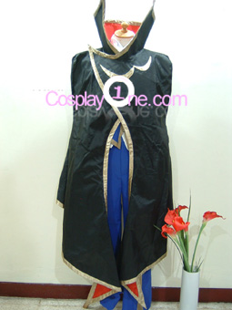 Lelouch Lamperouge from Code Geass Cosplay Costume front Coat