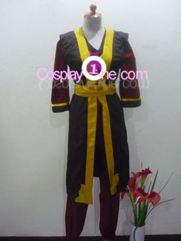 Zuko from Avatar Cosplay Costume front
