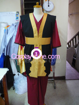 Zuko from Avatar Cosplay Costume front prog