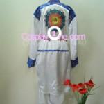 Brad Wong from Dead or Alive Cosplay Costume back