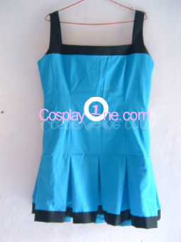 Bubbles (The Powerpuff Girl Z version) from The Powerpuff Girl Cosplay Costume front prog