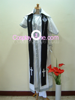 Sha from Anime Cosplay Costume front
