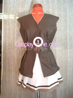 Mayumi Thyme from Shuffle! Cosplay Costume front prog