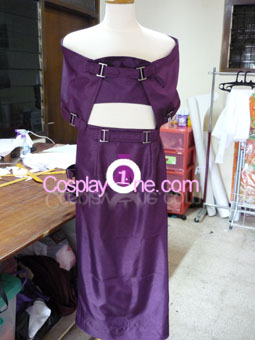 Testament from Guilty Gear Cosplay Costume front prog