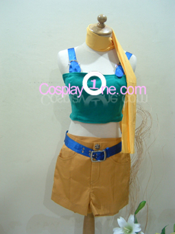 Yuffie Kisaragi from Final Fantasy VII Cosplay Costume front