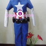 Captain America from Marvel Comics Cosplay Costume front