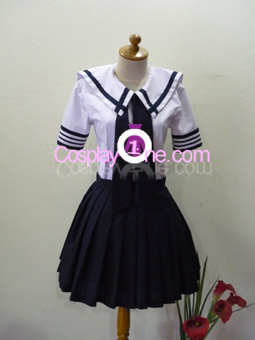 Japan School Uniform (Girl version) Cosplay Costume front