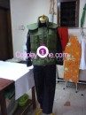Kakashi from Naruto Cosplay Costume front prog