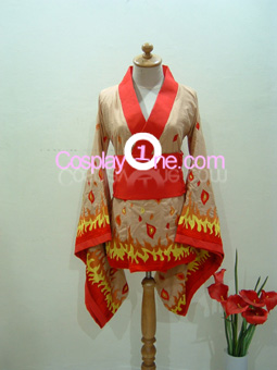 Kitsune from Anime Cosplay Costume front