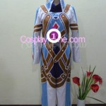 Kratos Aurion from Tales of Symphonia Cosplay Costume front 1