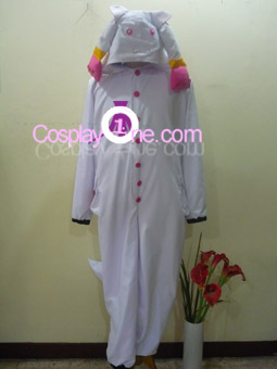 Kyubey from Mahou Shoujo Madoka Magica Cosplay Costume front