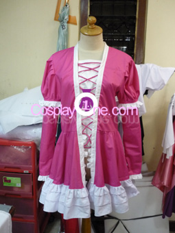 Lolita from Anime Cosplay Costume front prog