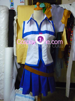 Lucy Heartfilia from Fairy Tail Cosplay Costume front prog