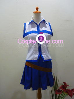 Lucy Heartfilia from Fairy Tail Cosplay Costume front