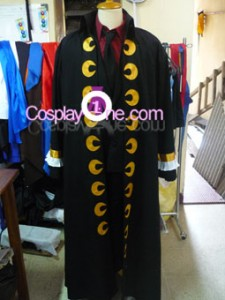 Monkey D. Luffy from One Piece Cosplay Costume front prog