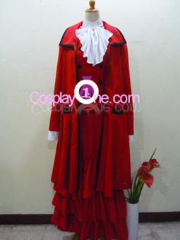 Madame Red from Black Butler Cosplay Costume front