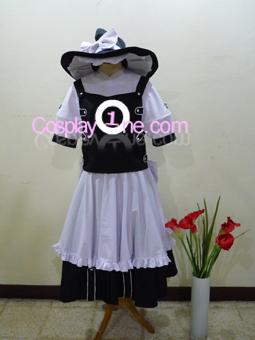 Marisa Kirimase from Touhou Cosplay Costume front