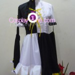 Meltdown Rin from Vocaloid Cosplay Costume front