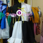 Meltdown Rin from Vocaloid Cosplay Costume front prog2