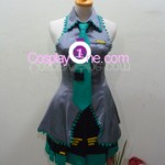 Miku Hatsune from Vocaloid Cosplay Costume front