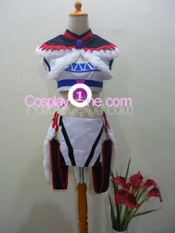 Kirin Armor from Monster Hunter Cosplay Costume front