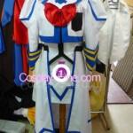 Nanoha Takamachi from Magical Girl Lyrical Nanoha Cosplay Costume front prog