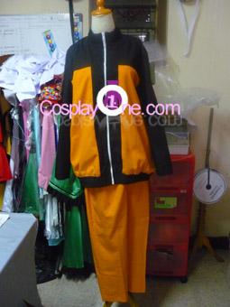 Naruto Uzumaki from Naruto Cosplay Costume front prog