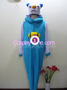 Oshawott from Pokemon Cosplay Costume front prog2