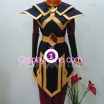 Azula from Avatar Cosplay Costume front