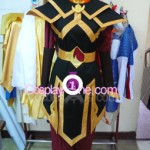 Azula from Avatar Cosplay Costume front prog
