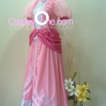 Princess Peach from Super Mario Bros Cosplay Costume side1