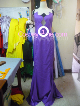 Queen Beryl from Sailor Moon Cosplay Costume front prog