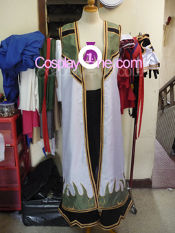 Ragnarok Online Champion from Anime Cosplay Costume front prog