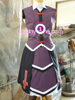 Rachel Alucard from BlazBlue Cosplay Costume front 4 prog