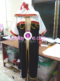 Ragnarok Online Monk from Anime Cosplay Costume front prog