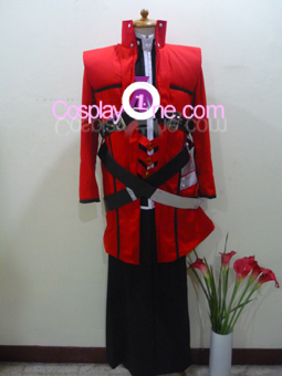 Ragna the Bloodedge from BlazBlue Cosplay Costume front