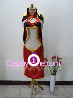 Ranpha Franboise from Galaxy Angel Cosplay Costume front