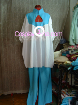 Regene Regetta from Mobile Suit Gundam Cosplay Costume front prog