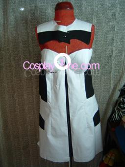 Rei Ayanami from Neon Genesis Evangelion Cosplay Costume front prog