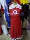 Reimu Hakurei from Touhou Cosplay Costume front prog3