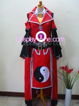 Reimu Hakurei from Touhou Cosplay Costume front