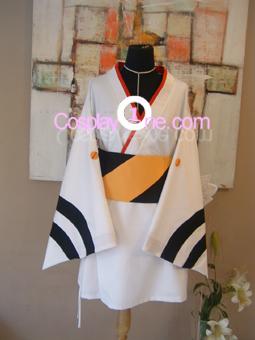 Rei Ayanami from Neon Genesis Evangelion Cosplay Costume front