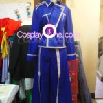 Roy Mustang from Fullmetal Alchemist Cosplay Costume front prog