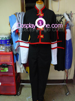 Syaoran from Tsubasa Reservoir Chronicle Cosplay Costume front prog