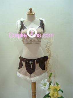 Ragnarok Online Sniper Girl from Anime Cosplay Costume front