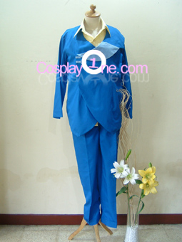 Spike Spiegal from Cowboy Bebop Cosplay Costume front