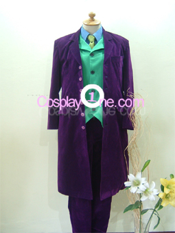 Joker from DC Comics Cosplay Costume front