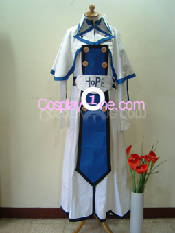 Ky Kiske from Guilty Gear Cosplay Costume front