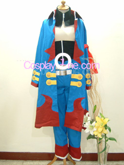 Simon the Digger from Tengen Toppa Gurren Lagann Cosplay Costume front3