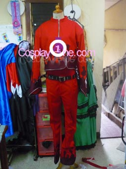 Ash Crimson from Anime Cosplay Costume front prog